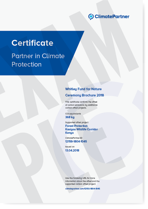 Climate Neutral cetificate